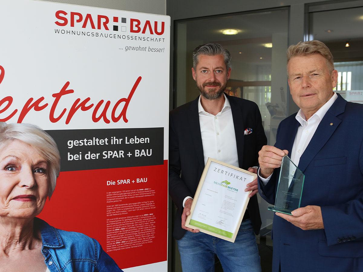 Herzlichen Glückwunsch an die Wilhelmshavener Spar- und Baugesellschaft eG!